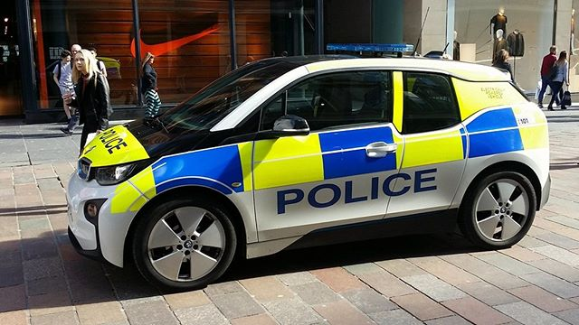 The BMW i3 was the first EV to be used by the police with various forces across the UK using adapted versions of the popular model. 🚨 👮 🚔 You know its a reliable and trusted car when the police use it, so why not hire a BMW i3 and go emission free!  https://www.voltagehire.com/bmw-i3-electric-vehicle-hire