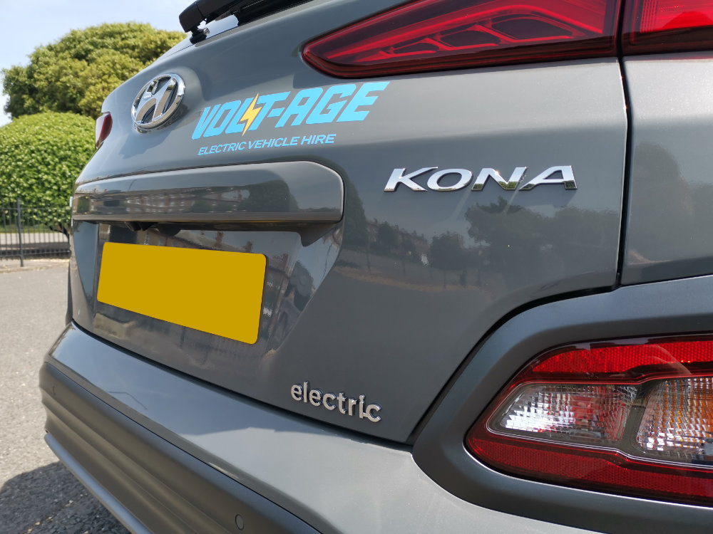 Hyundai Electric Kona Hire From Volt-Age