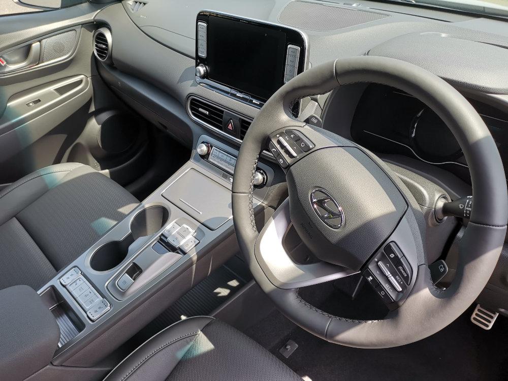 Interior Hyundai Kona Electric