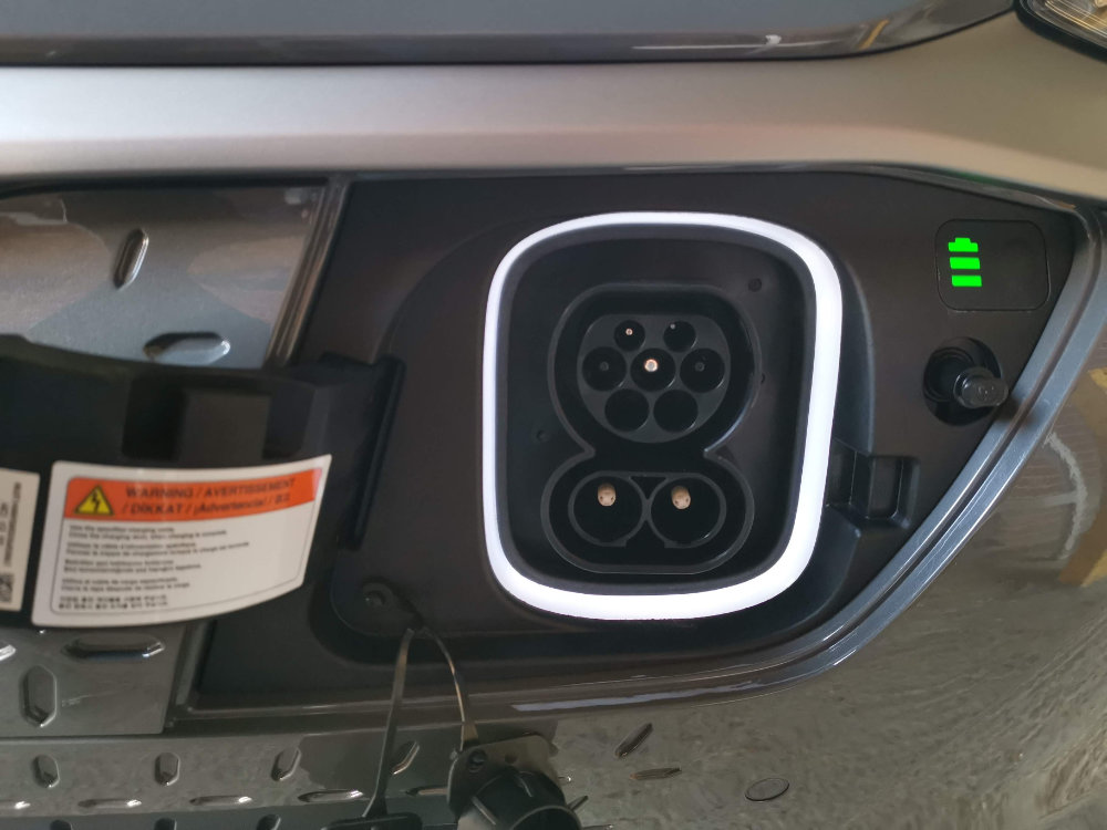 Charging Point Hyundai Kona Electric