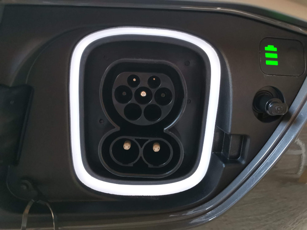 Hyundai Kona Electric Charging