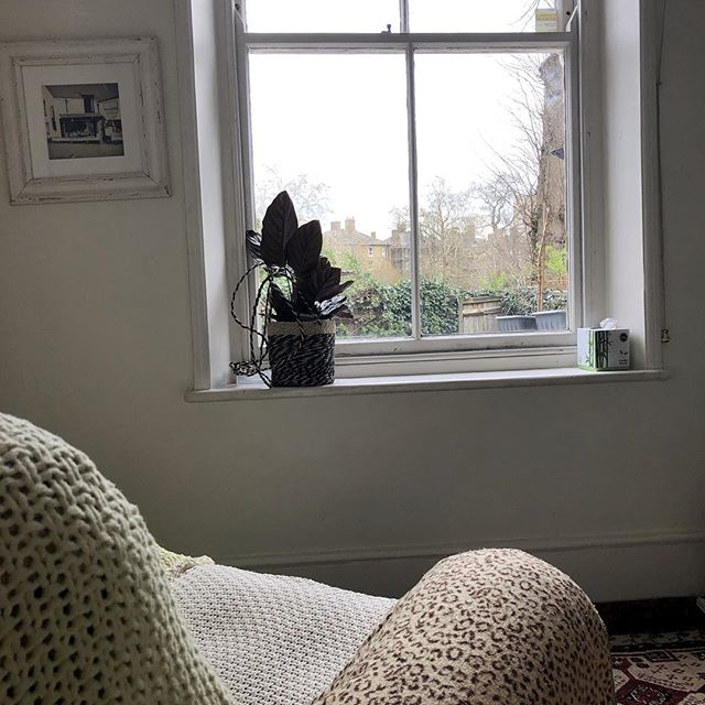 Like to think it's my therapy that helps people but it may be my comfy recliner chair and the view over Brockwell park that does it (definitely helps!) #hypnotherapy #southwestlondon #lambeth #wellbeing
