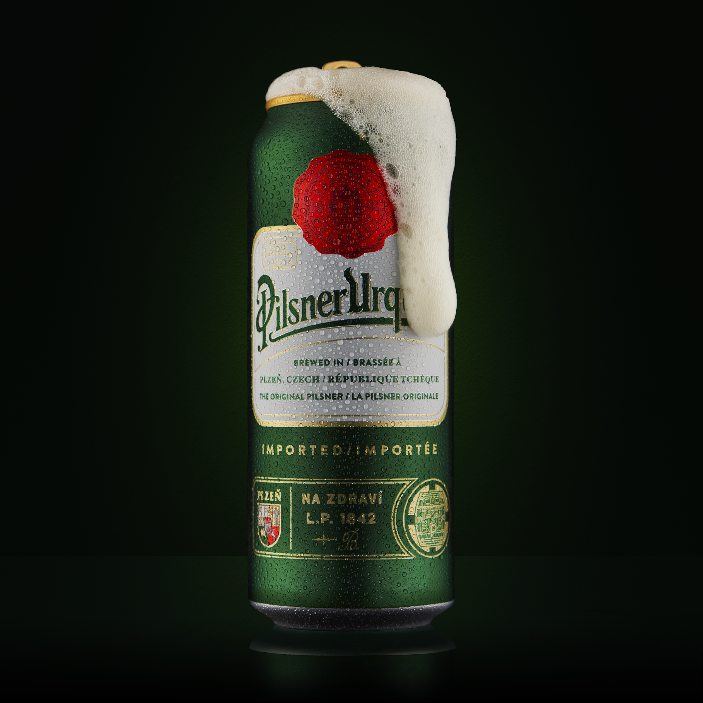 Pilsner Urquell Wet with Foam Flat.png
