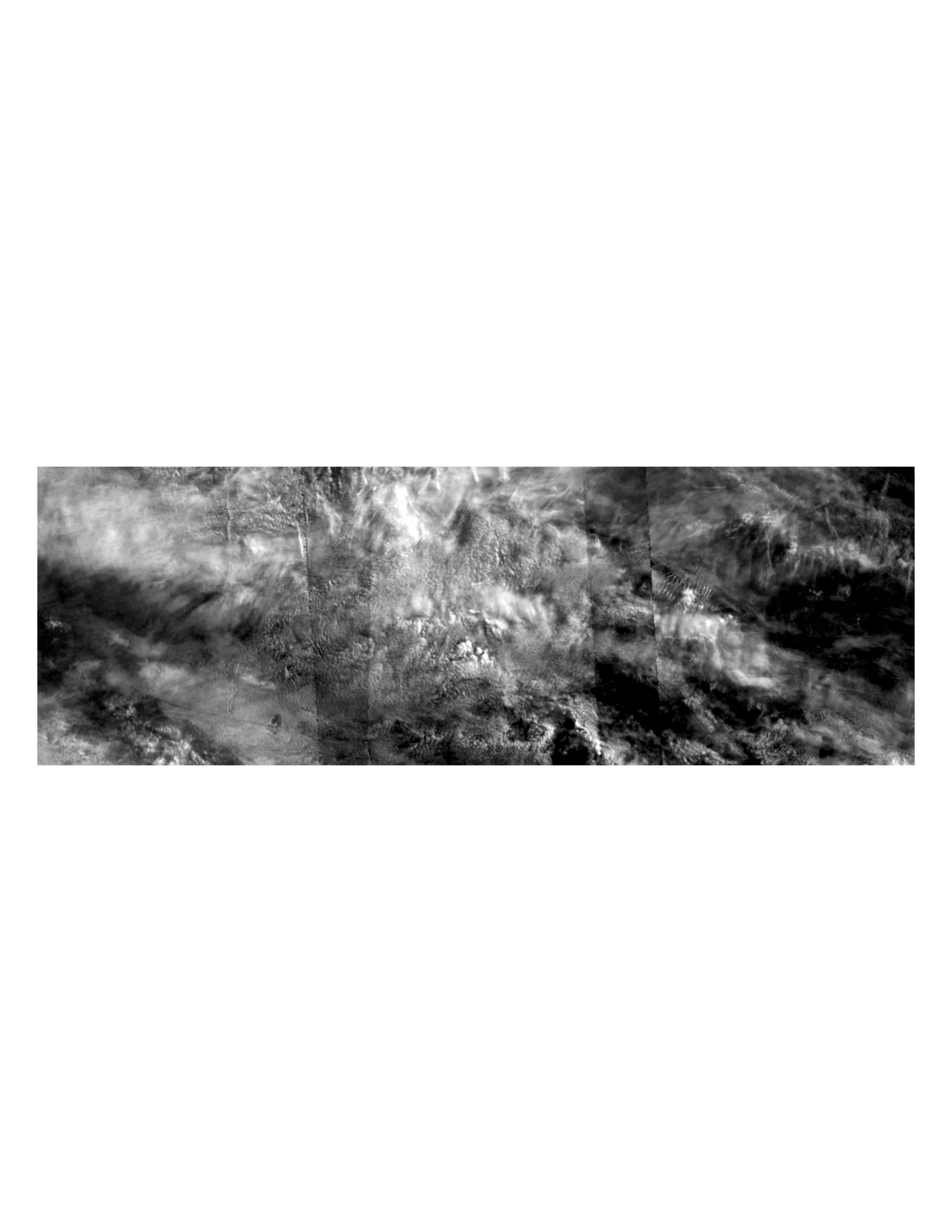 Cloud cover over the English Channel; 10/2016