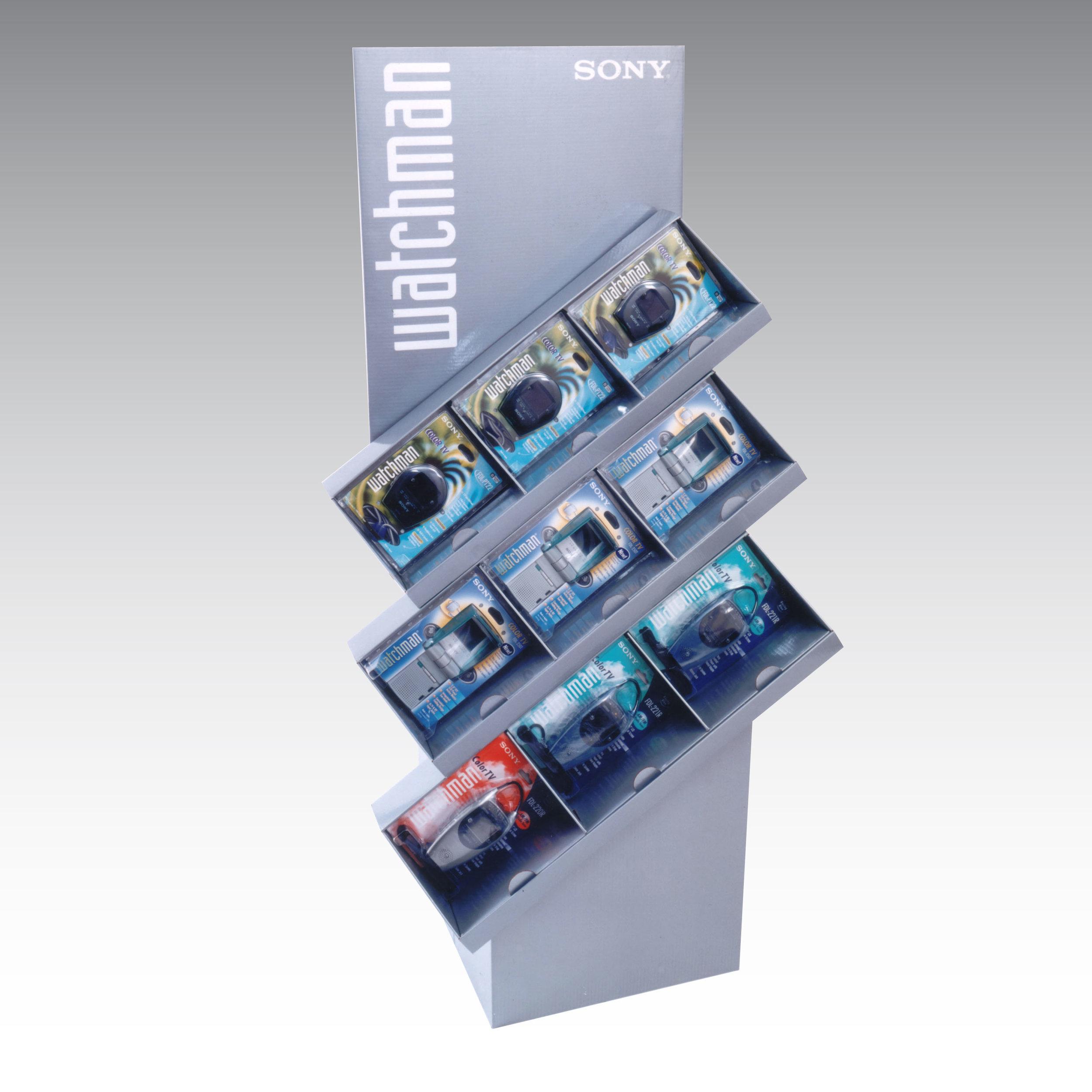 Sony Watchman display - Popai OMA award -