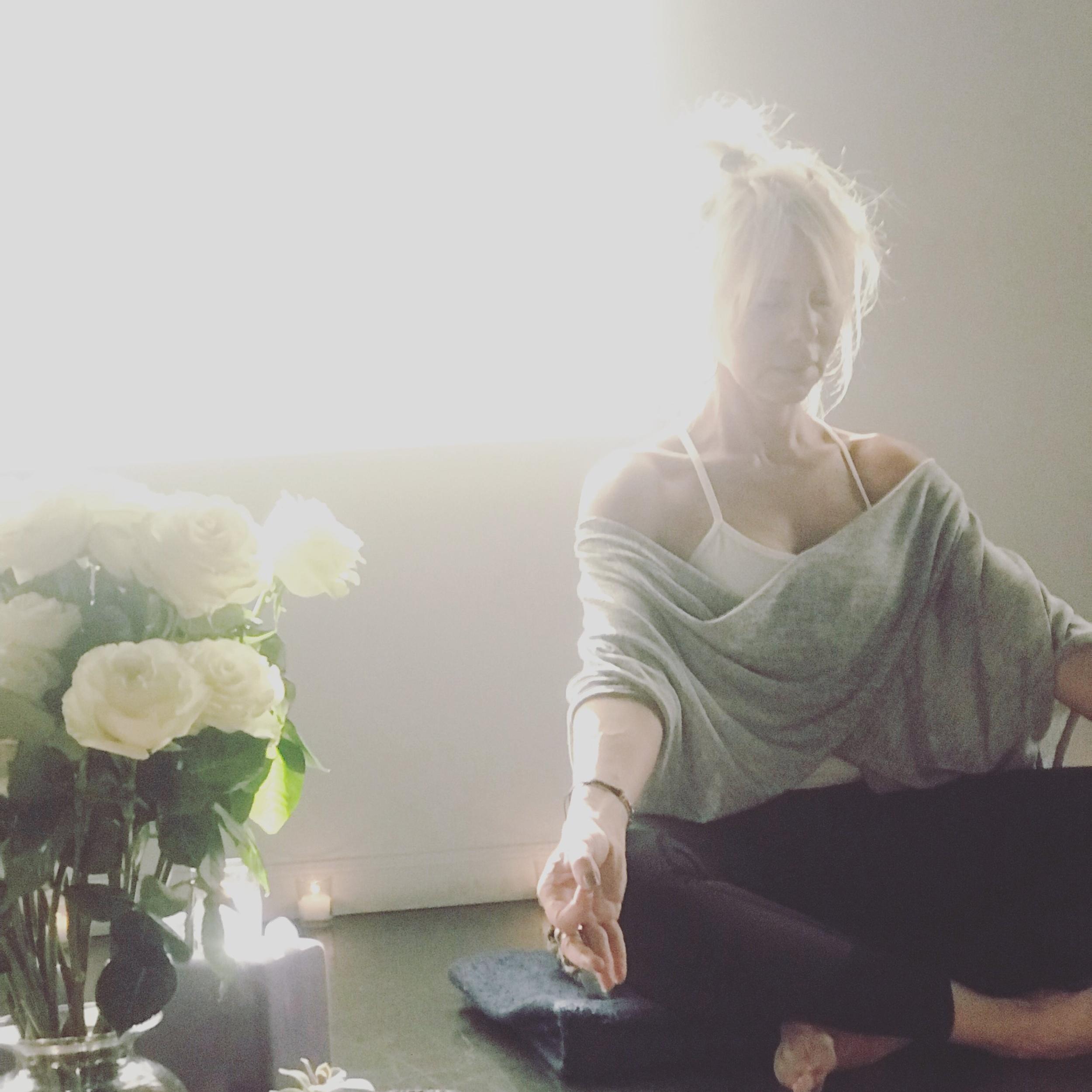Karine Wascher meditation