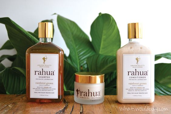 "Rahua   ""The most clean and efficacious 100% natural formulas on the marker - all of which are vegan,organic, sulfate free, paraben free, gluten free and cruelty free."""