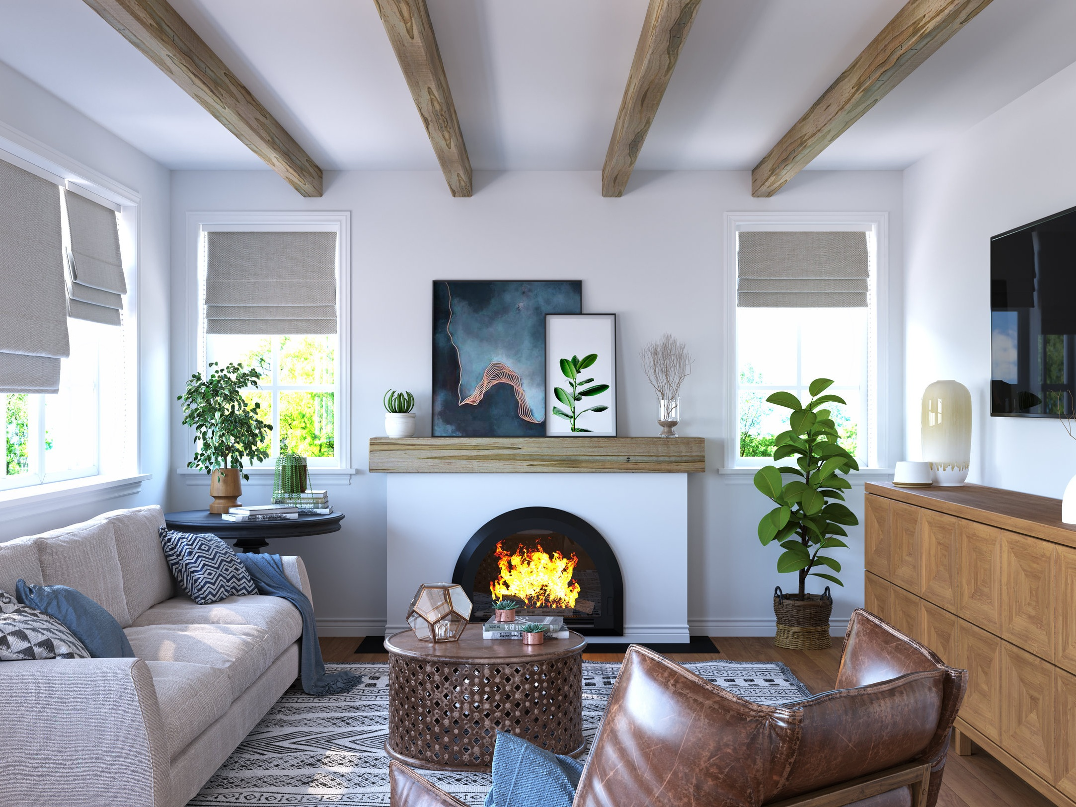 Wood Beams -