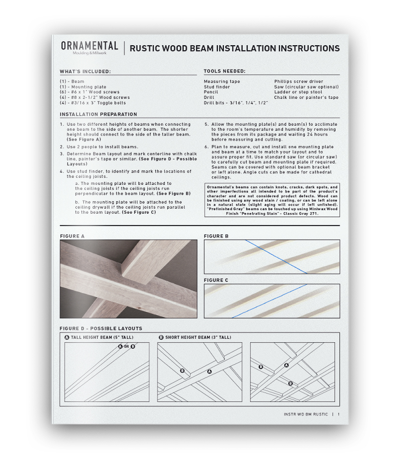 Beam Installation Guide