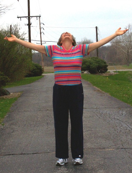 Nine months of abstinence--and almost 100 pounds lighter!