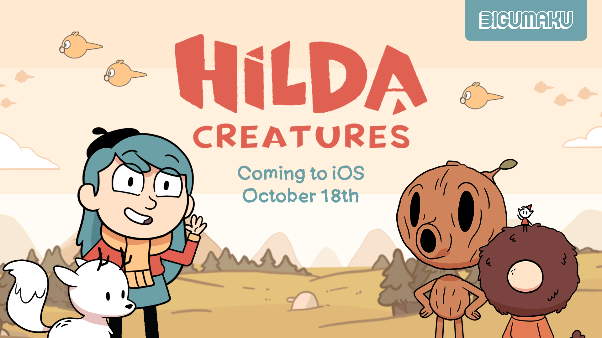 Hilda Creatures coming soon