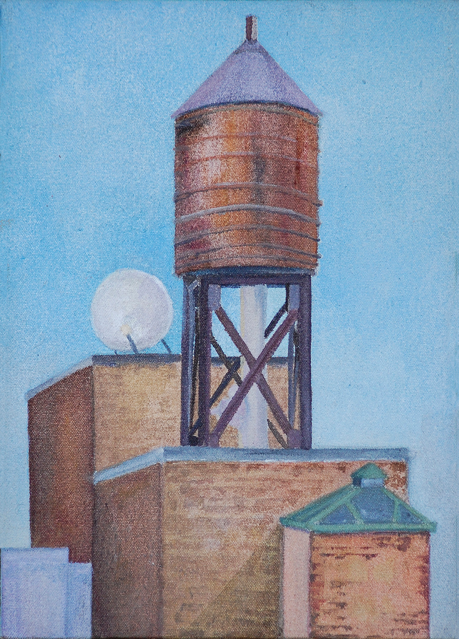 Rooftop (tank and dish)