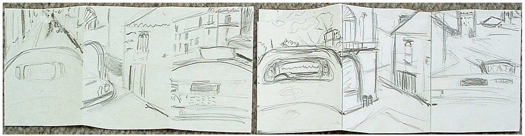 Sketch for Cuba