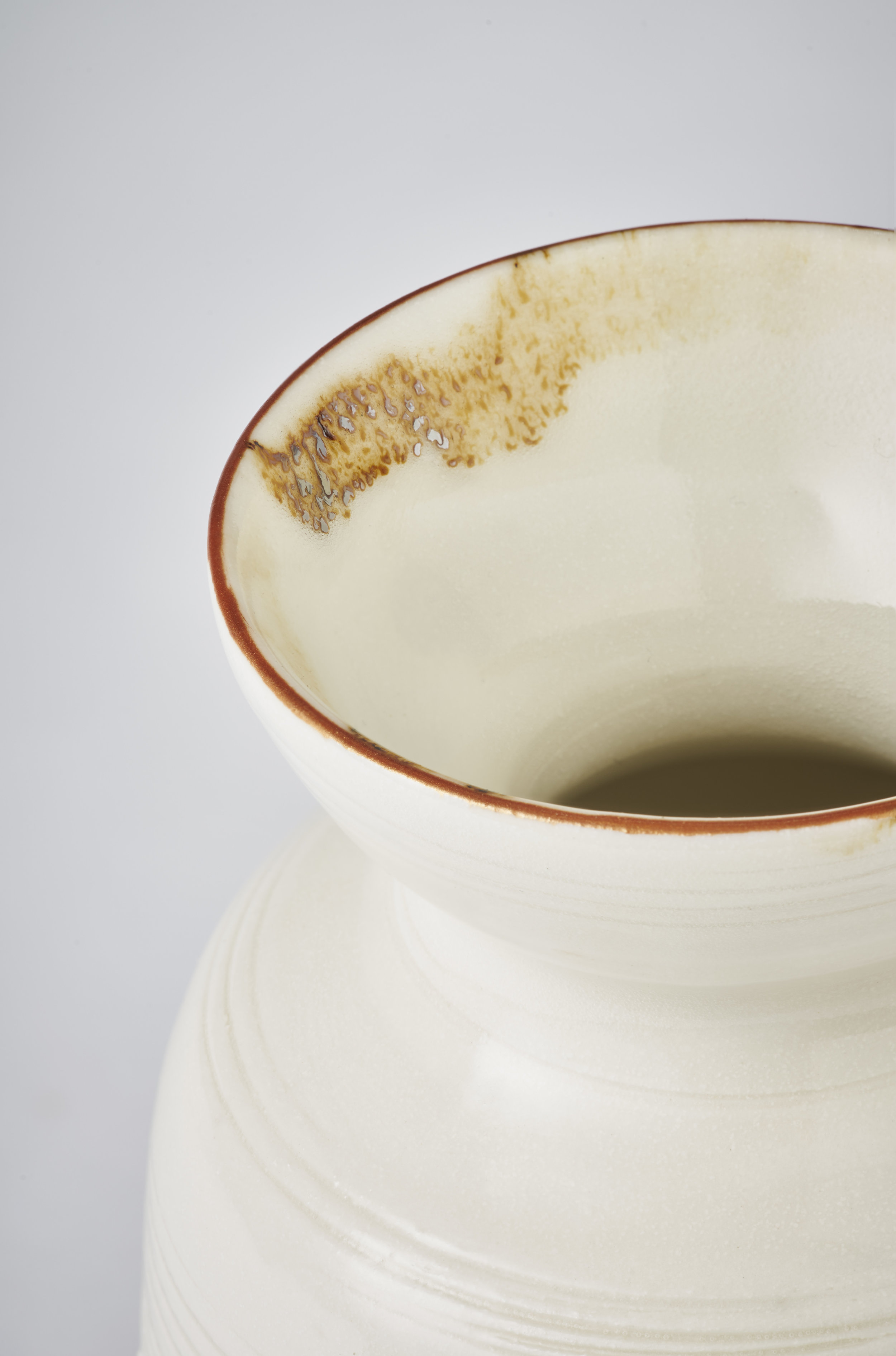 Kirsty Adams Large posy vases Close up, porcelain  6.5cm x 11.5cm Photography Matthew Booth.jpg