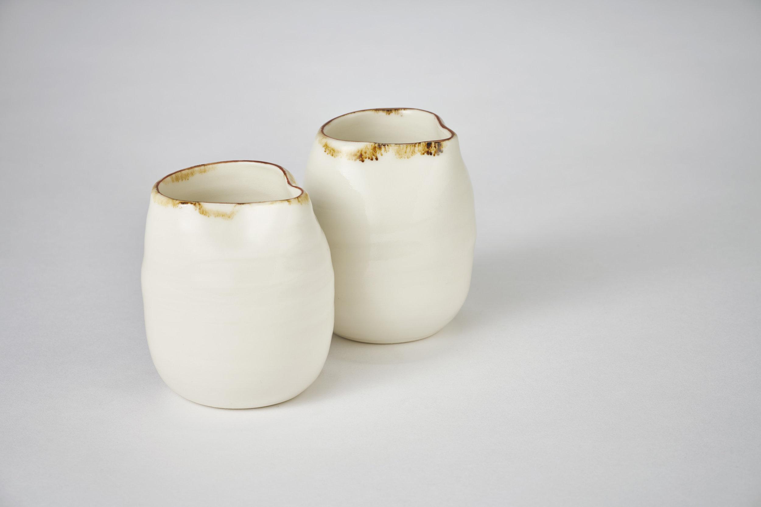 Kirsty Adams Ceramics pourers 9cm x 6cm. Photography Matthew Booth.jpg