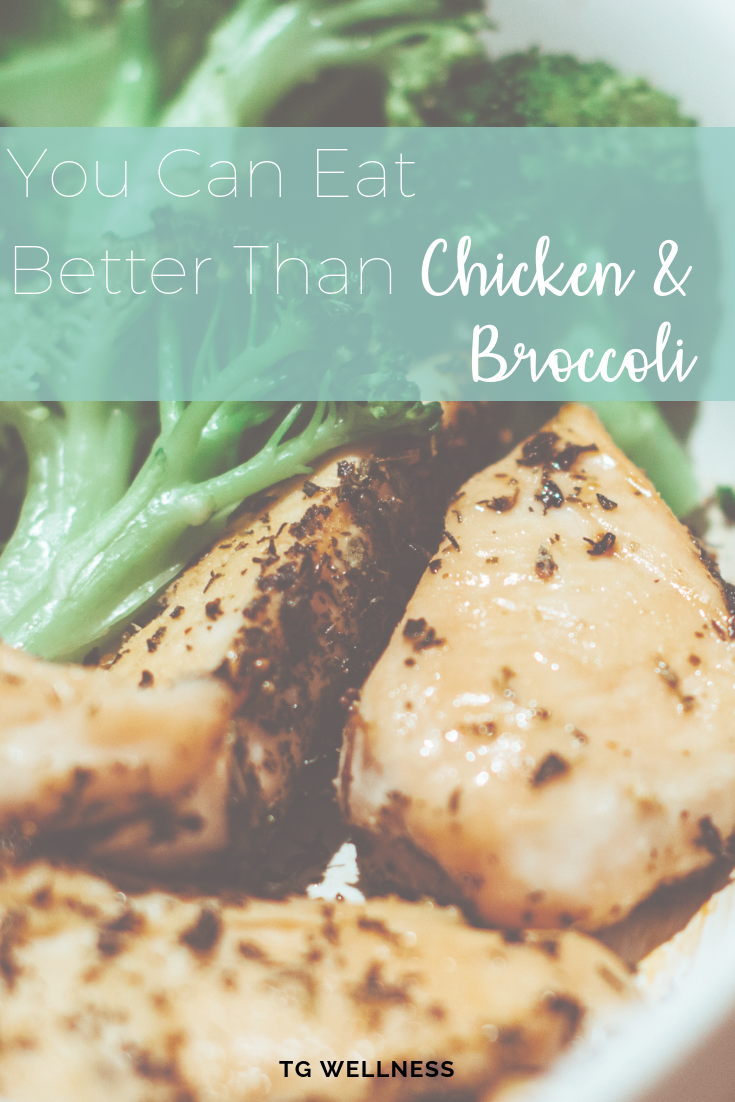 faster way to fat loss, broccoli, chicken, eat carbs,