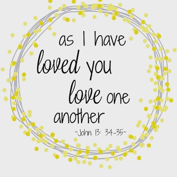 "#Soulfulsunday . ❤️ . I LOVE, LOVE, LOVE this scripture verse, it is a great reminder of what we are called to do. . More love, less ""judgement"" and less ""need"" to understand...just love people. . Wishing you a wonderful week full of love!💞"