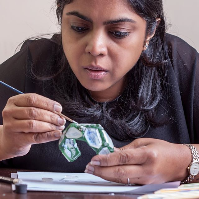 As a jeweler, Neha Dani conveys unique emotions and experiences, cast in precious metals. Her work extrapolates traditional jewelry in process and purpose.