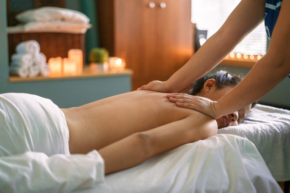 Deep Tissue - Deep Tissue massage is a massage technique that focuses on the deeper layers of muscle tissue. It aims to release the chronic patterns of tension in the body through slow strokes and deep finger pressure on the contracted areas, either following or going across the fiber's of the muscles, tendons and fascia.Deep tissue massage is used to release chronic muscle tension through slower strokes and more direct deep pressure or friction applied across the grain of the muscles not with the grain. Deep tissue massage helps to break up and eliminate scar tissue. Deep tissue massage usually focuses on more specific areas and may cause some soreness during or right after the massage. However, if the massage is done correctly you should feel better than ever within a day or two.