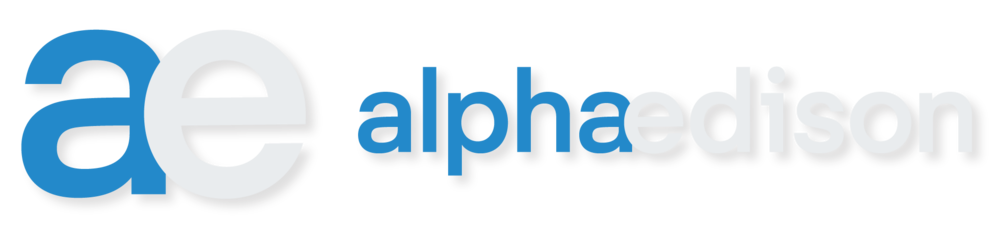 Alpha Edisson Logo