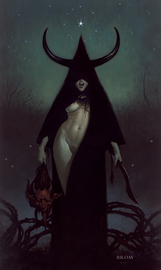 WITCHHORN  2012  Oil on board  (SOLD)