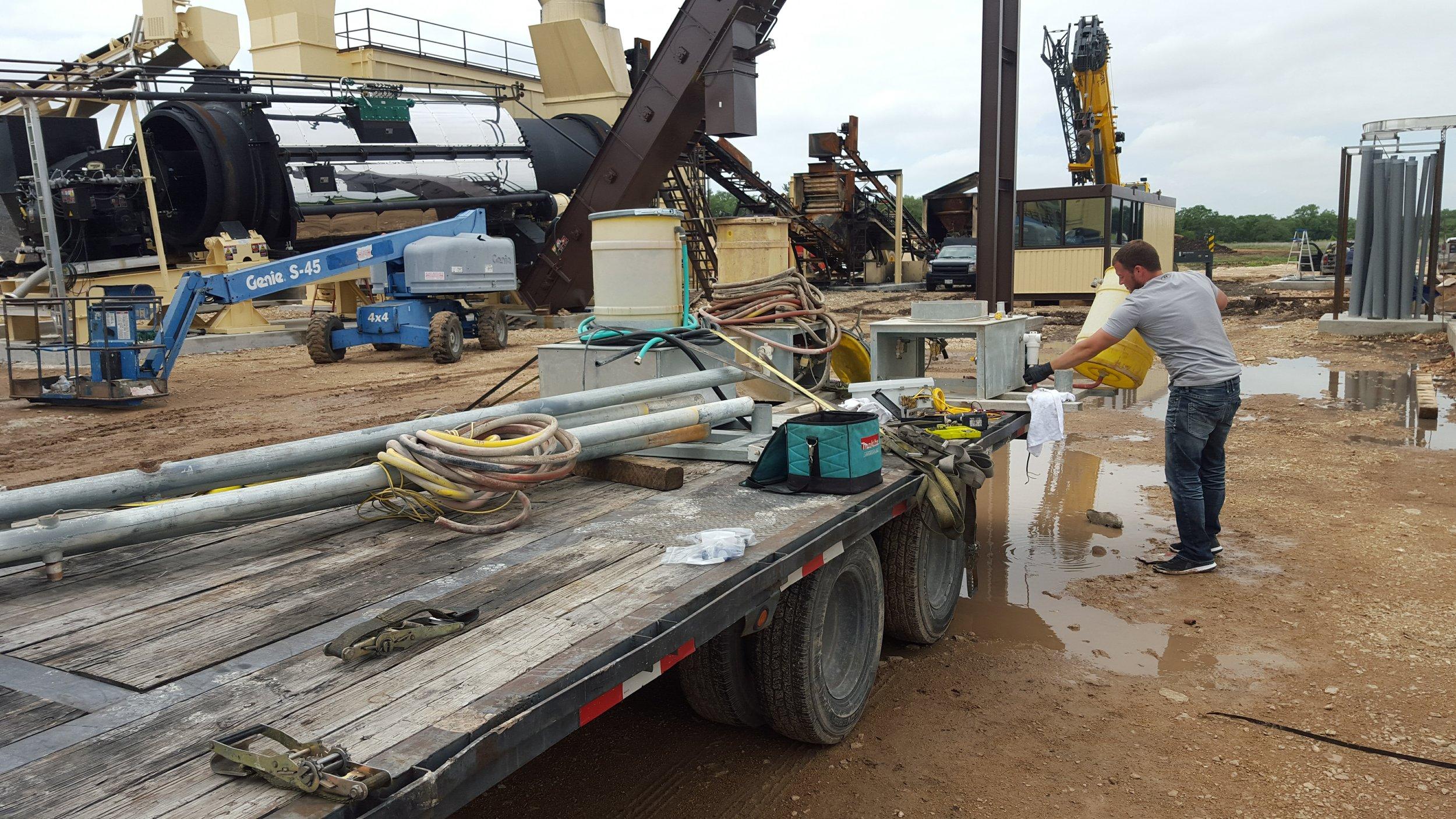 Concrete Removal Spray Systems -