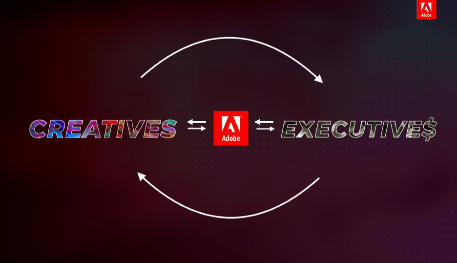 So, for Adobe to be seen as a partner in design rather than a design tool, - Adobe must be perceived as…