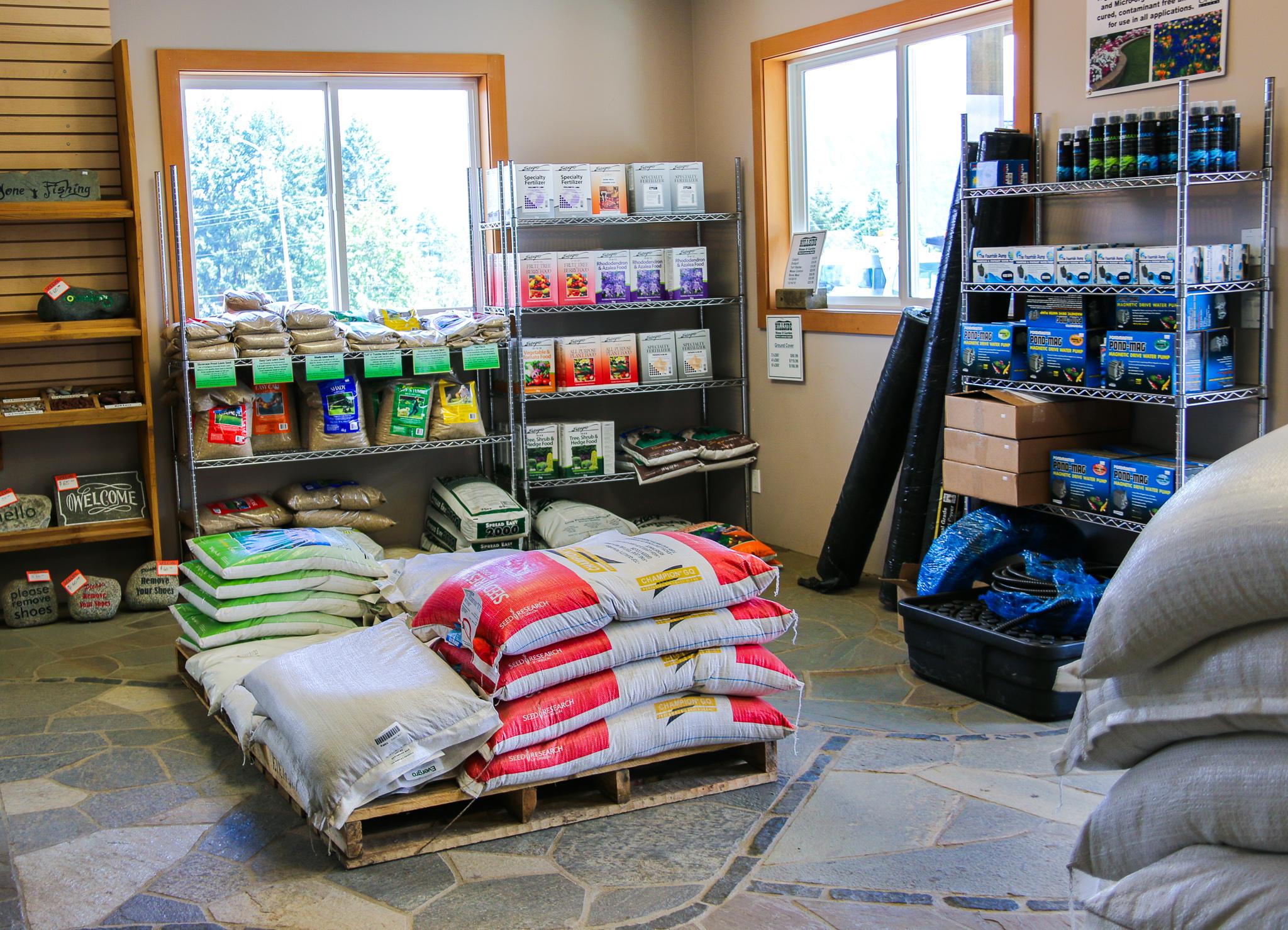 Lawn Supplies Vancouver Island Duncan BC
