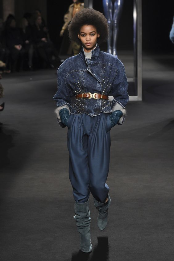 The Blues of Denim at Ferretti