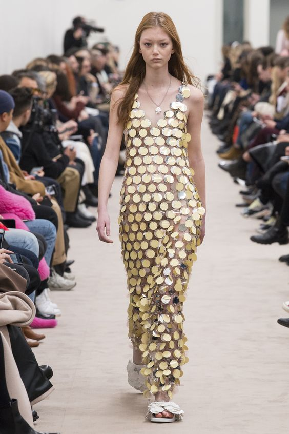 Gold Circles, Circles Everywhere at Paco Rabanne