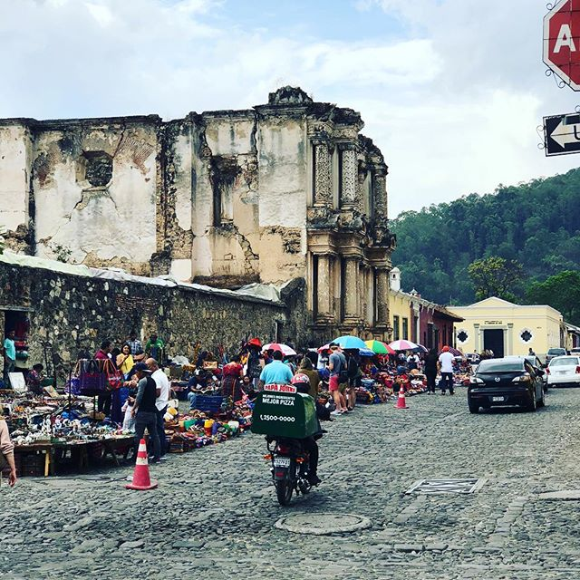 Street Market in Antigua - Handcrafted treasures everywhere you look- not to be missed! #handmadejewelry #sustainablefashion #antiguaguatemala
