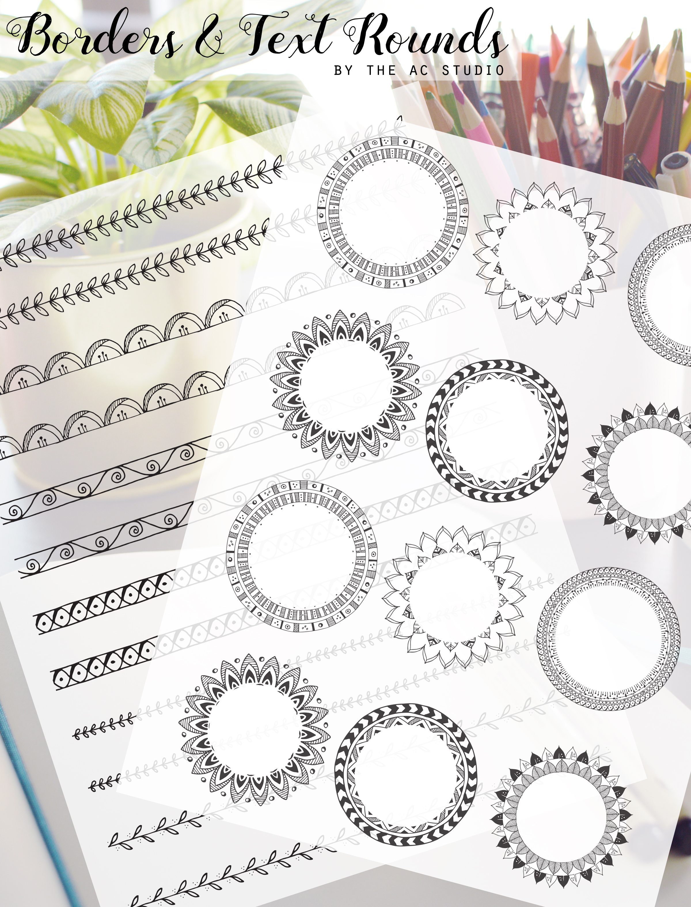 BORDERS AND TEXT ROUND PLANNER STICKERS DISPLAY.jpg