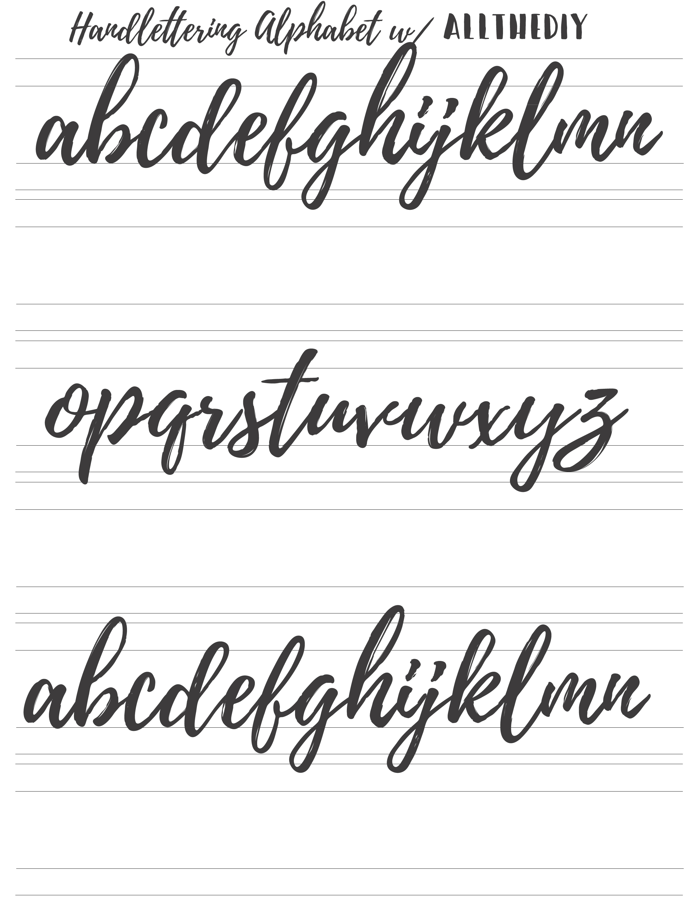 7 Best Hand Lettering Tips for Beginners