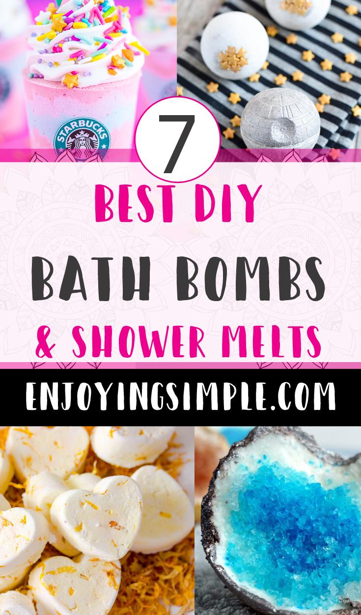BEST DIY BATH BOMB RECIPES