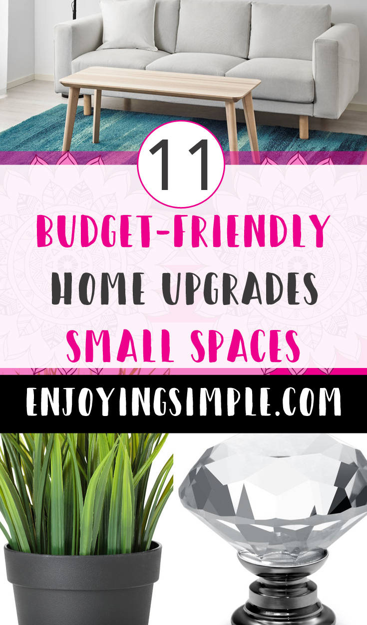 FAST AND EASY HOME DECOR UPGRADES