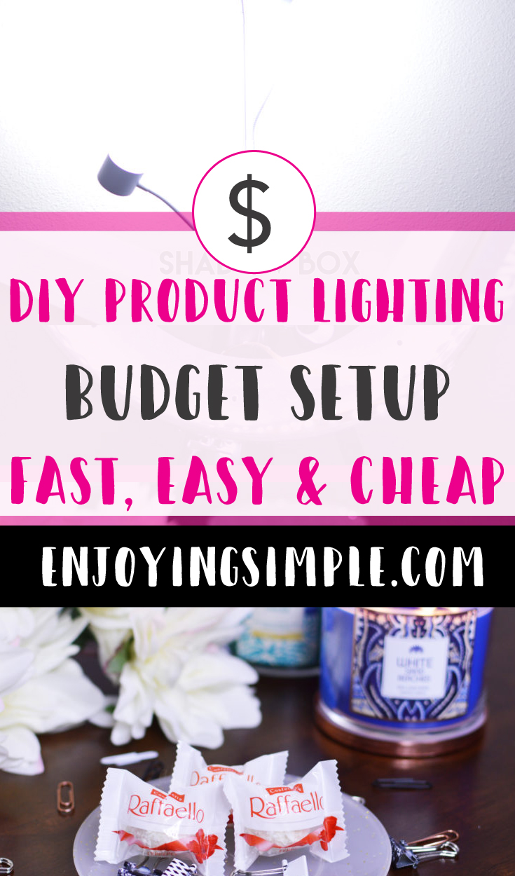 DIY BUDGET FRIENDLY LIGHTING