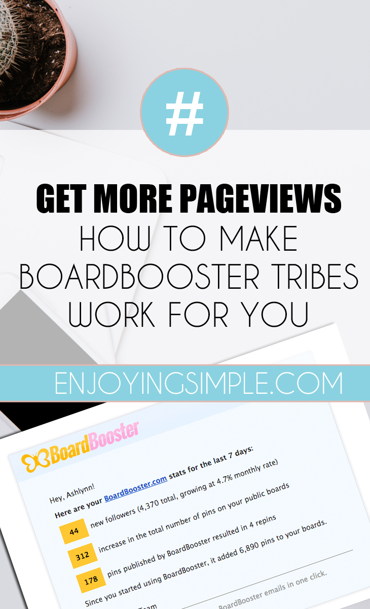USE BOARDBOOSTER TRIBES FOR MORE PAGEVIEWS