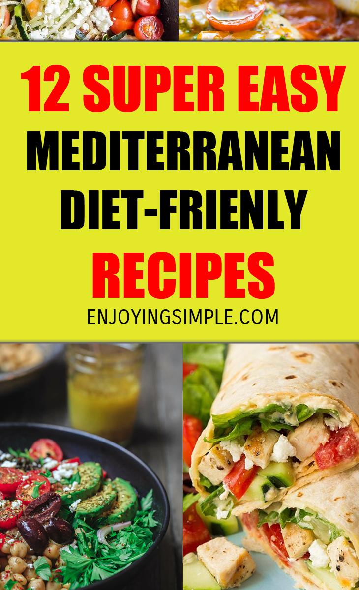 MEDITERRANEAN DIET FRIENDLY RECIPES