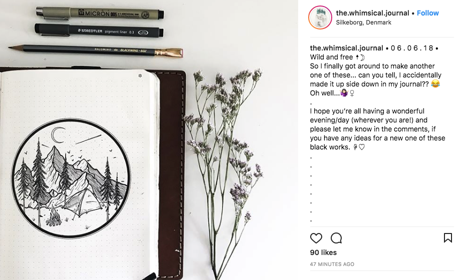 the.whimsical.journal - Click to view Instagram and more gorgeous artwork!