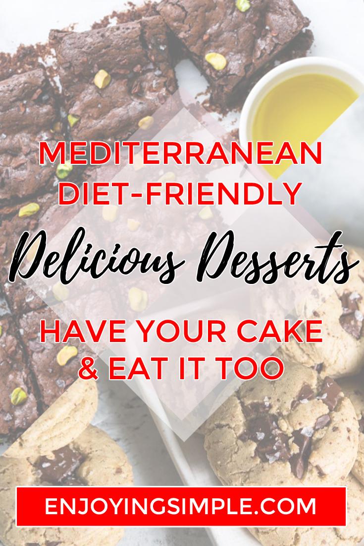 6 Mediterranean and Keto Diet Friendly Desserts - DIET FRIENDLY DESSERTS
