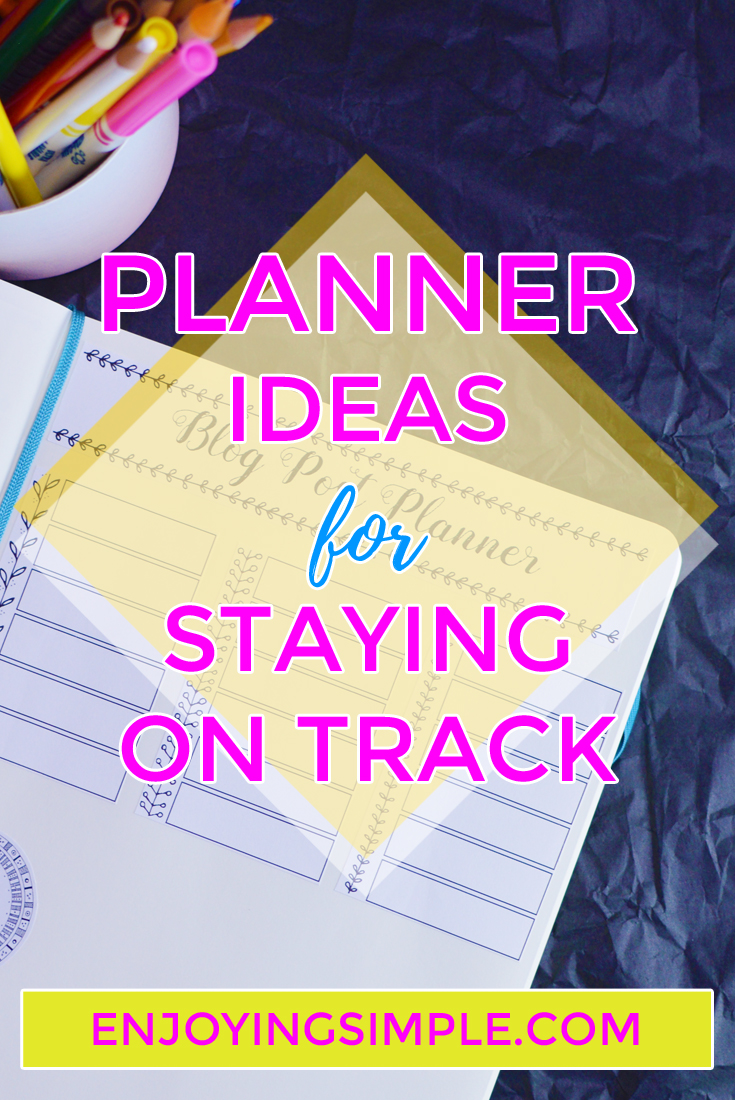 BULLET JOURNAL IDEAS FOR STAYING ON TRACK