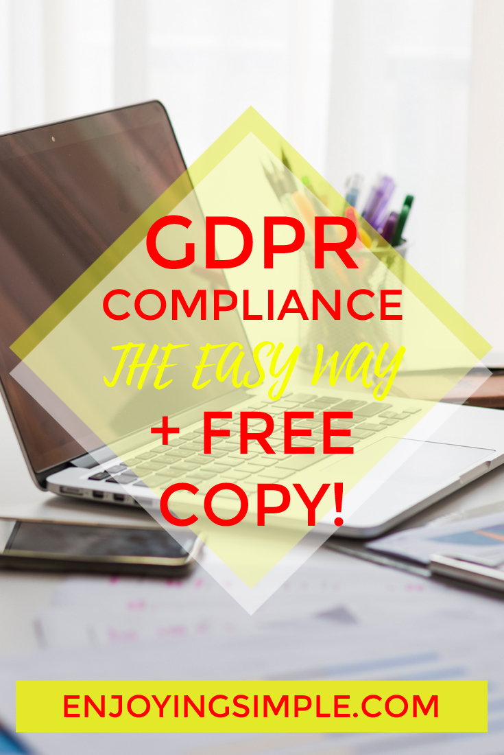 MAKING BLOG GDPR COMPLIANT