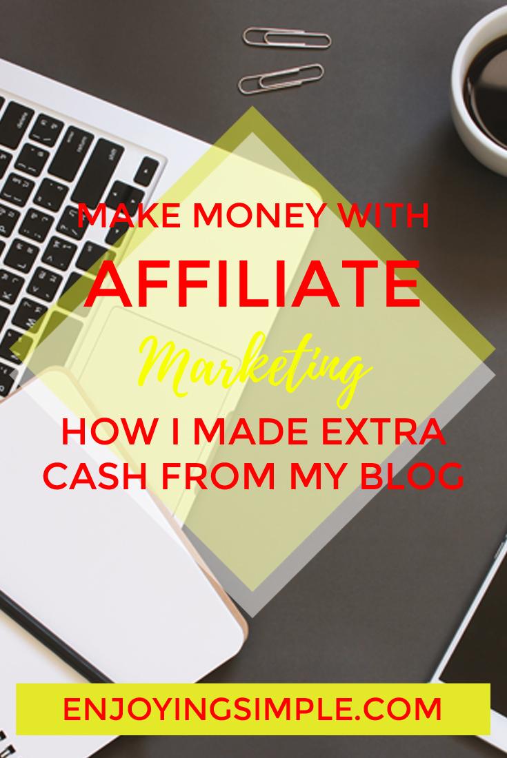 MAKING MONEY AFFILIATE MARKETING