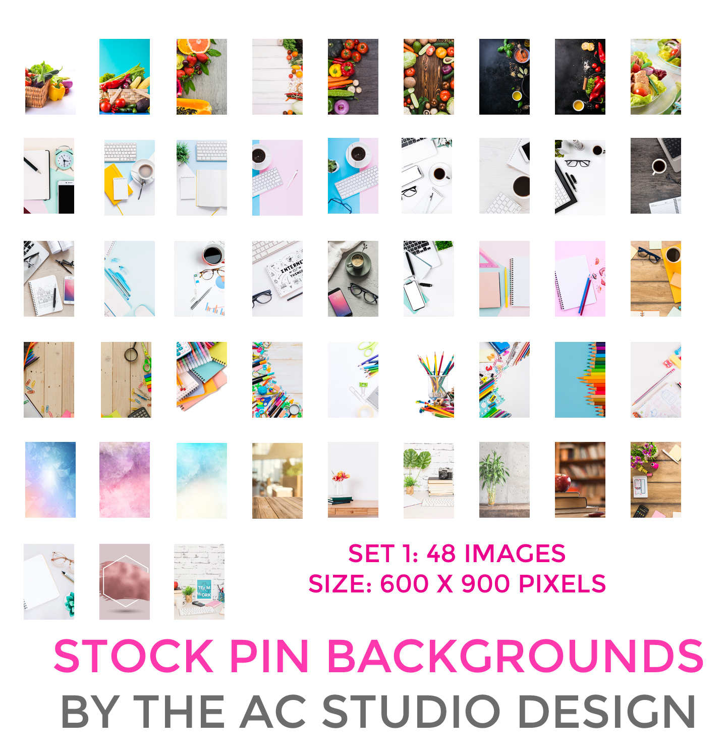 48 Free Catchy, Click-Worthy, Beautiful Pinterest Pin Graphics