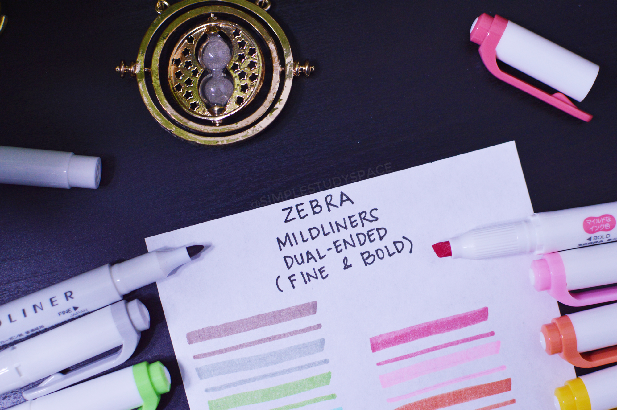 Pen Review: Zebra Mildliner Double Ended Highlighter