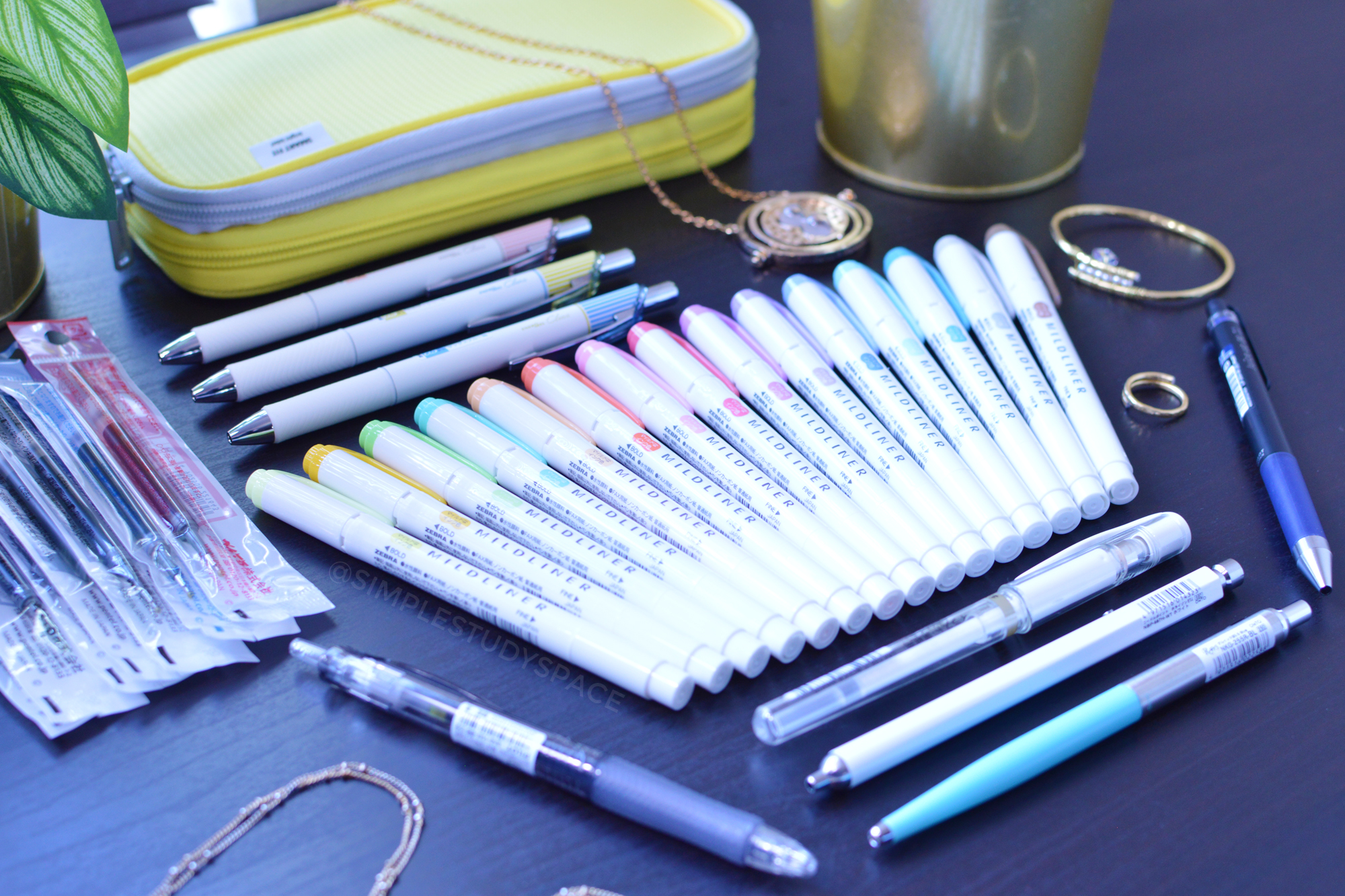 Pens and markers from JetPens.