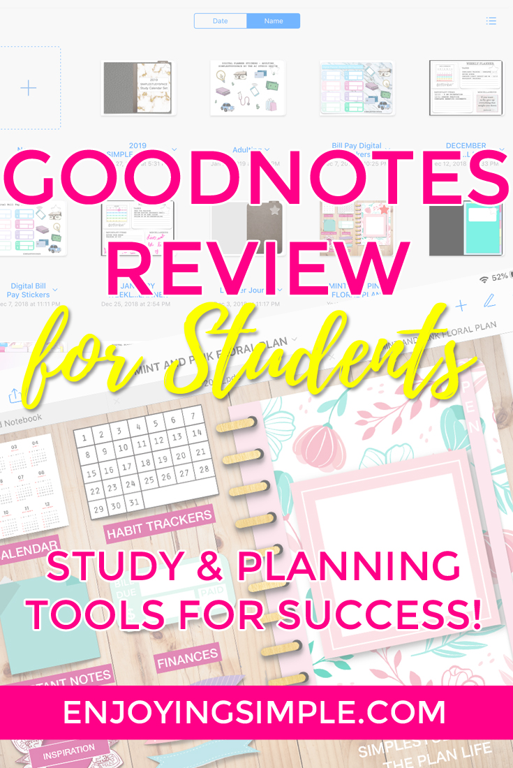 Student Tools: GoodNotes Review and Ways to Use the App for School and Planning