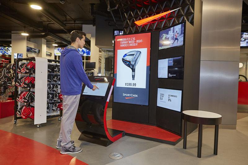 Sport Chek In-Store Kiosk - Case Study