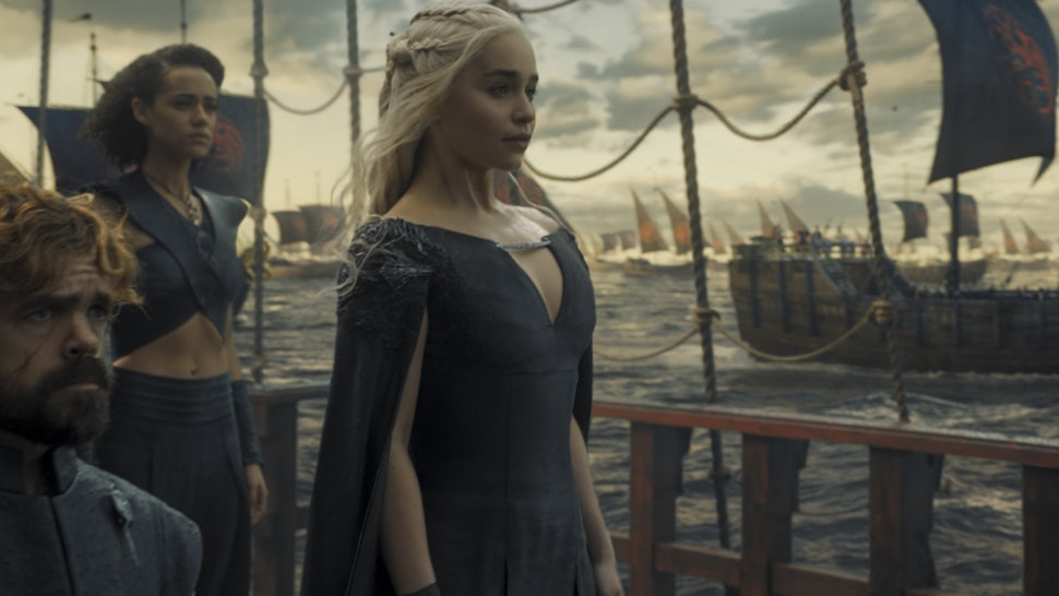 TOPIC B: - News has come from Essos. Daenerys of House Targaryen, First of Her Name, The Unburnt, Khaleesi of the Great Grass Sea, Breaker of Chains and Mother of Dragons has freed Slaver's Bay and now sails to Westeros with an army of Unsullied, Dothraki riders, Second Sons, a massive fleet and three fully grown dragons. It is the duty of the lords and ladies of The Seven Kingdoms of Westeros to gather up; for it is of paramount importance to determine the continent's fate. How will her invasion be dealt with? Will the Targaryen dynasty be put to an end? Does she have a rightful claim upon the Iron Throne and the Crown? Is it possible to defeat her, or is appealing to her a better choice? Or is her cause, perhaps, worth following?