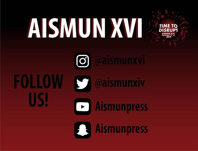 Don't miss anything! Go follow all of our  social media accounts!📱👀🖥